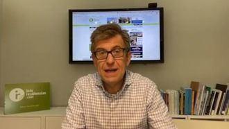 El director de Inforesidencias, Josep de Martí, en su canal de Youtube hablando de residencias.