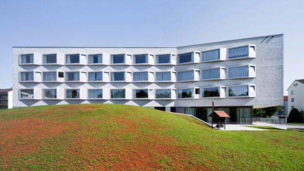 Residencia Jakob-Sigle-Heim, en Alemania, diseño de los arquitectos del despacho Wulf.