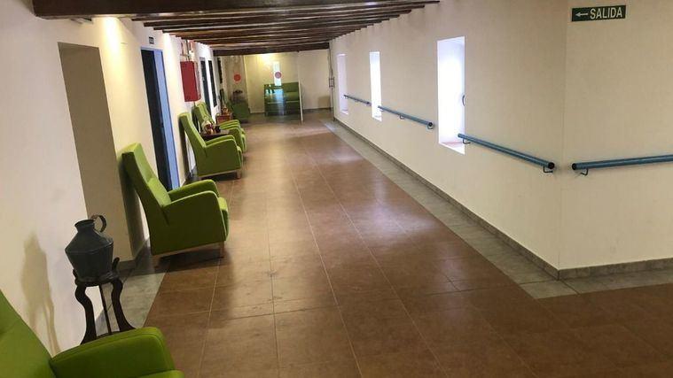 Centro de positivos de coronavirus en Gea de Albarracín (Teruel).