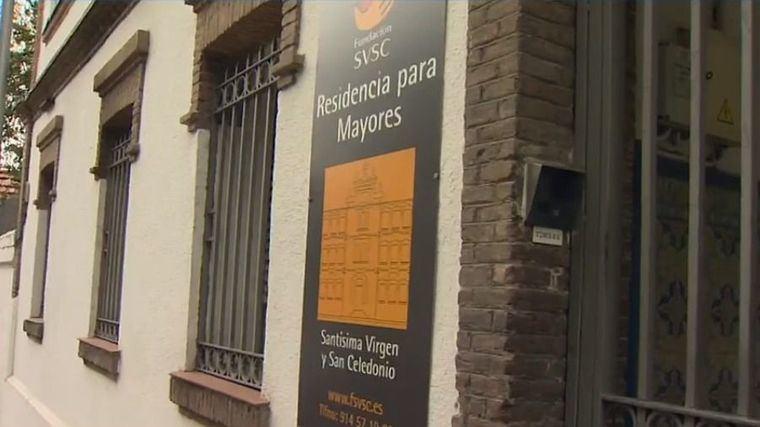 Residencia de personas mayores en Madrid.
