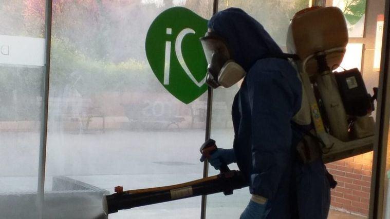 DomusVi refuerza la protección de sus residencias contra el Covid -19 con desinfecciones periódicas