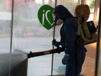 DomusVi ha desinfectado al completo su red de residencias.