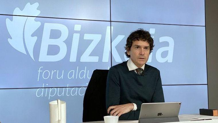 El diputado general de Bizkaia, Unai Rementeria.