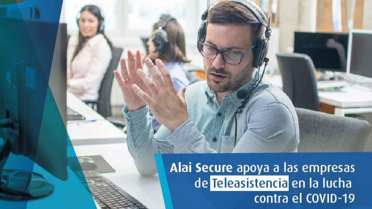 Alai Secure ayuda contra el Covid19: facilita las llamadas de seguimiento de Teleasistencia en remoto
