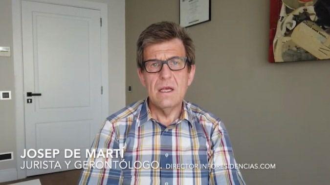 Josep de Martí hablando en el Canal de YouTube de Inforesidencias.com