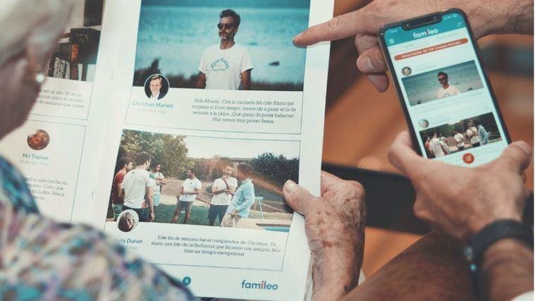 Famileo, una nueva herramienta para paliar el aislamiento de los mayores en las residencias