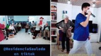 Residència Sauleda se hace viral en todo el mundo con #losabuelosestamosentiktok