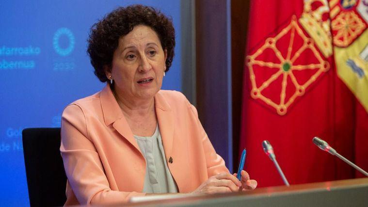 La consejera de Derechos Sociales, Mª Carmen Maeztu.