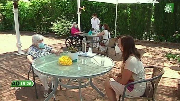 Visto en la red: Reencuentro de residentes y familiares en ORPEA Córdoba Sierra