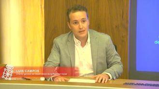 el director del Observatorio de la Realidad Social, Luis Campos.