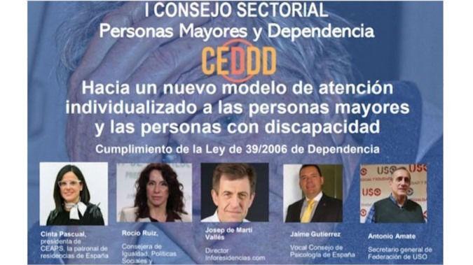 El CEDDD organiza el I Consejo Sectorial de Personas Mayores y Apoyos a la Dependencia