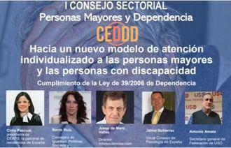 I Consejo Sectorial Personas Mayores y Dependencia.