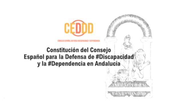 El CEDDD autonómico de Andalucía es hoy ya una realidad
