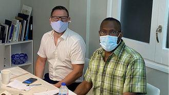 Stephan Biel y David Sprowl, en el seminario BeyondEmpathy organizado por Inforesidencias.com.