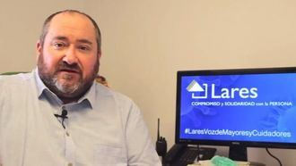 Juan Vela, presidente de Lares.