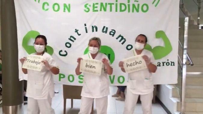 Visto en la red: la residencia DomusVi Narón celebra