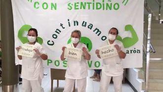 La residencia DomusVi Narón celebra que siguen sin positivos en coronavirus.