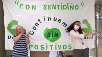 La residencia DomusVi Naron celebra que siguen sin positivos en coronavirus.
