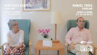 Amavir homenajea a todas las personas que trabajan por y para los mayores en residencias #estiempodeunión