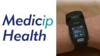 Medicip Health lanza al mercado un nuevo reloj de grado médico para seguimiento de pacientes.