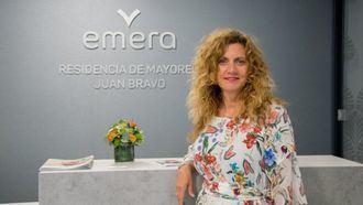 Sonsoles Yustas Corral directora de la residencia para mayores Emera Juan Bravo en Madrid.