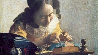 La encajera, de Johannes Vermeer