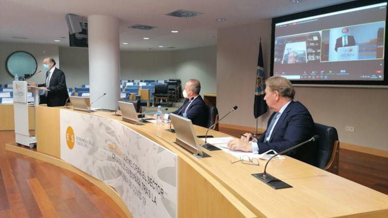 Presentación de 106 medidas que mejoran el sector de la salud en España tras la pandemia de Covid-19.