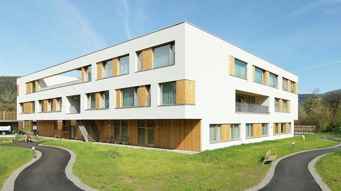 La residencia Caritas PflegewohnhausLeoben, en Göss, Austria.