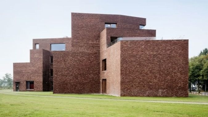Arquitectura y residencias: Una original residencia en la Bélgica Flamenca: Alfons Smet