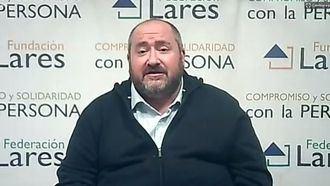 El presidente de Lares, Juan Vela.