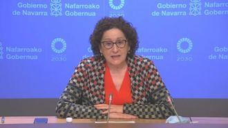 La consejera navarra  de Derechos Sociales, Carmen Maeztu.