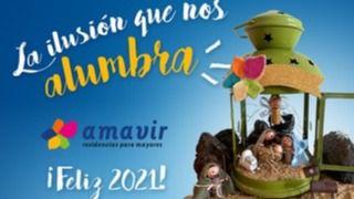 Amavir Haría, en Lanzarote, gana el concurso de la felicitación navideña de la compañía