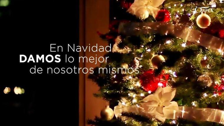 """ORPEA felicita la Navidad con un mensaje especial: """"Cuidar es darlo todo"""""""