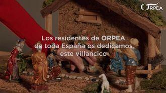 Los residentes de ORPEA graban un villancico para felicitar la Navidad a sus familias.