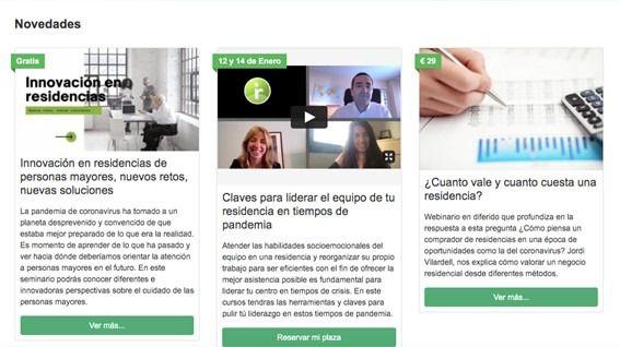 Comprometidos con la formación, Inforesidencias.com presenta su nueva Aula Virtual