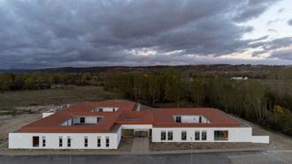 Una residencia en La Pobladura del Bernesga (León) distribuida en unidades de convivencia.