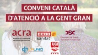 Convenio catalán para las personas mayores.