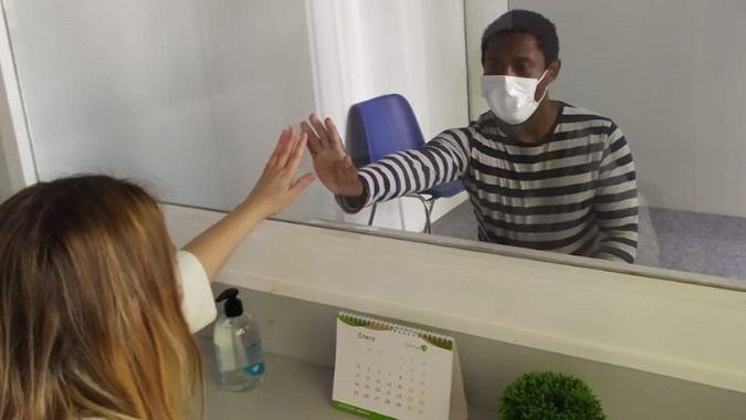 Residencias para discapacidad de DomusVi y Mentalia habilitan módulos exteriores para visitas