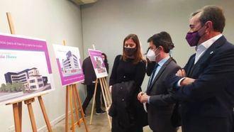 el presidente ejecutivo y fundador de Vitalia Home, José María Cosculluela, en la presentación del nuevo centro en Huesca.