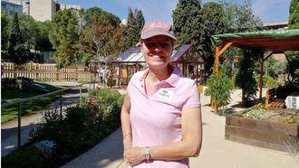 Karin Palmlöf, pionera en la instalación de jardines terapéuticos en España.