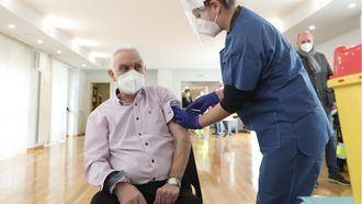 Perimer vacunado en Navarra.