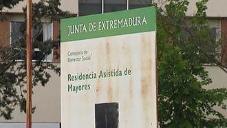 Una residencia de personas mayores en Extremadura.