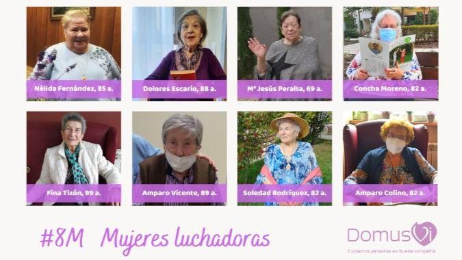 DomusVi comparte los relatos de nueve mujeres que vencieron al Covid-19