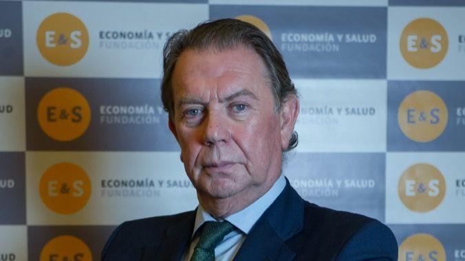 El presidente de la Fundación Economía y Salud, Alberto Giménez Artés.