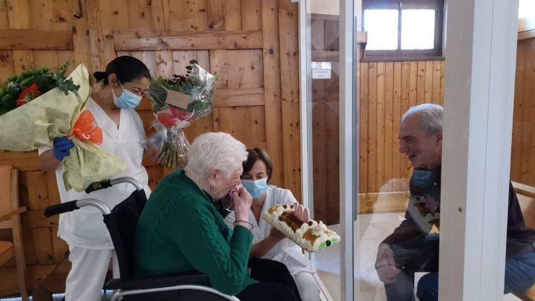 El posicionamiento de Lares, decisivo en la flexibilización de las visitas a familiares en residencias