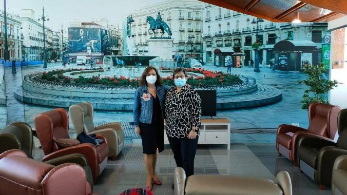 Amade visita las nuevas instalaciones de OnaCare en Velilla de San Antonio