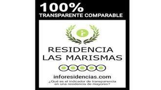 Certificado de transparencia de residencias de Inforesidencias.com.