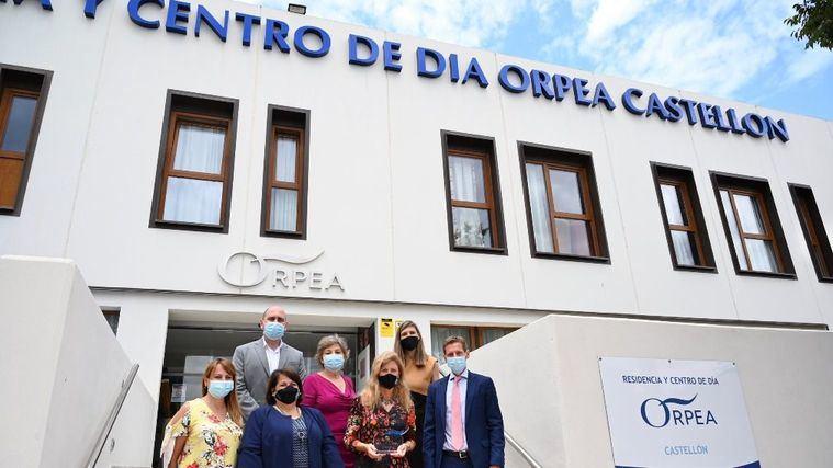 La alcaldesa de Castelló de la Plana inaugura la nueva residencia de ORPEA