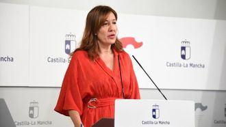 La consejera de Igualdad y portavoz del Gobierno de Castilla-La Mancha, Blanca Fernández.