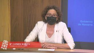 La consejera de Derechos Sociales del Gobierno Foral de Navarra, Carmen Maeztu.